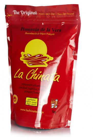 """Bolsa Agridulce 1 kg. Pimentón Ahumado """"La Chinata"""""""