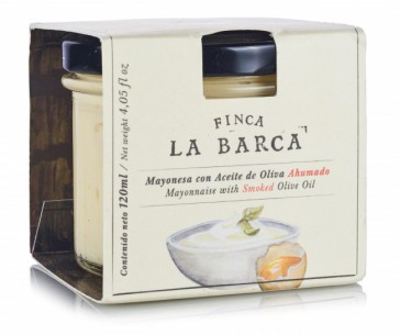 Mayonesa con Aceite de Oliva Ahumado tarro 120 ml.