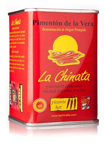 """Lata Picante 160 gr. Pimentón Ahumado """"La Chinata"""""""