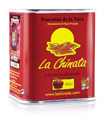 "Lata Dulce 70g Pimentón Ahumado ""La Chinata"""