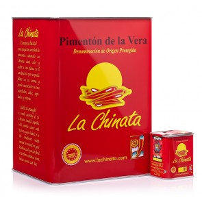 "Empty ""La Chinata"" XXL Tin"