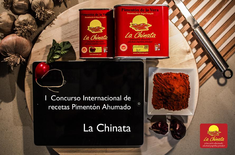 I Concurso Internacional de Recetas Pimentón Ahumado La Chinata