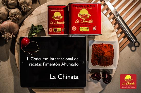 """Ganador I Concurso Internacional de Recetas Pimentón Ahumado """"La Chinata"""""""
