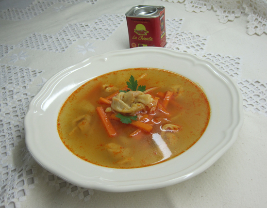 Hungarian Knotted-Noodle Soup