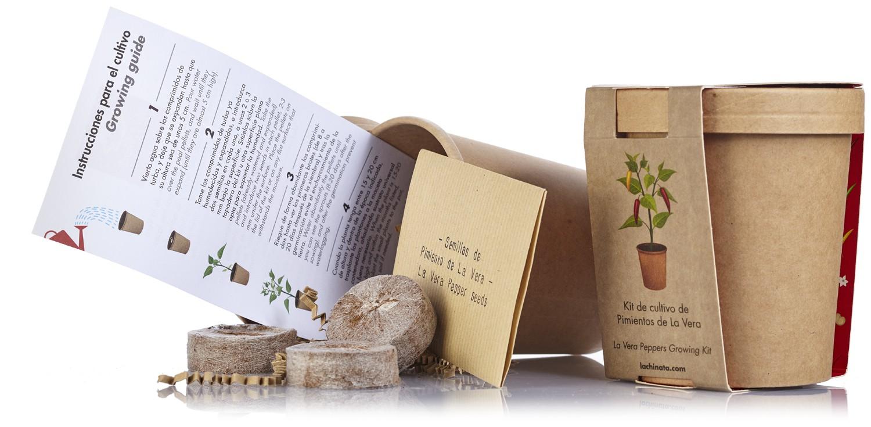 """Kit de cultivo Pimientos de La Vera """"La Chinata"""""""