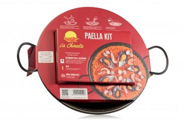 """KIT Paella """"La Chinata"""" con Paellera 30cm"""
