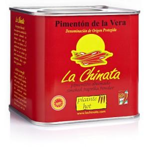 """Lata Picante 350g  Pimentón Ahumado """"La Chinata"""""""