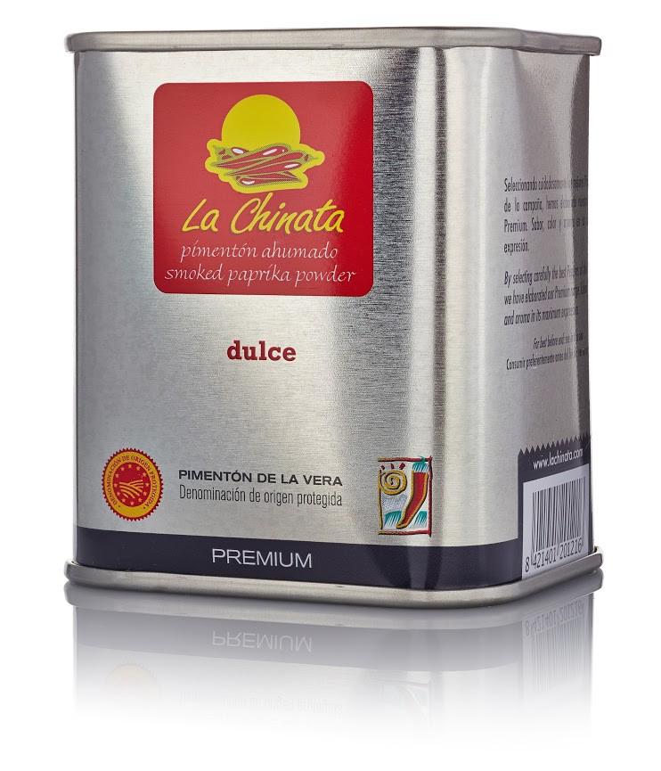 "Sweet Smoked Paprika Powder ""La Chinata"" PREMIUM 70g Tin"