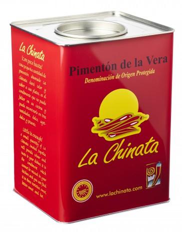 """Bitter-Sweet Smoked Paprika Powder """"La Chinata"""" 4,5 Kg. Tin"""