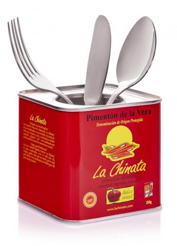 "Empty ""La Chinata"" 350g Tin"