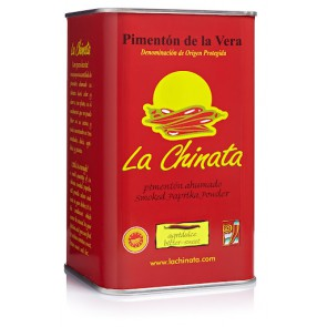 "Bitter-Sweet Tin Smoked Paprika Powder ""La Chinata"" 750g Tin"