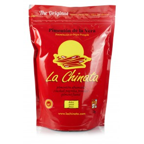 "Sweet Smoked Paprika Powder ""La Chinata"" 1 kg Bag"