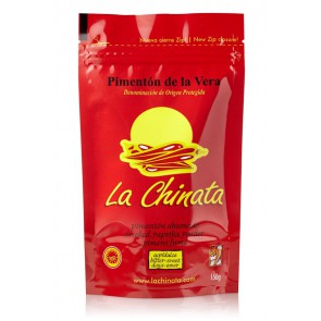 "Bitter-Sweet Smoked Paprika Powder ""La Chinata"" 150g Bag"