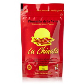 "Sweet Smoked Paprika Powder ""La Chinata"" 150g Bag"