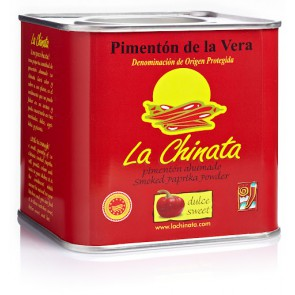 "Sweet Smoked Paprika Powder ""La Chinata"" 350g"