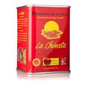 "Sweet Smoked Paprika Powder ""La Chinata"" 160g Tin"