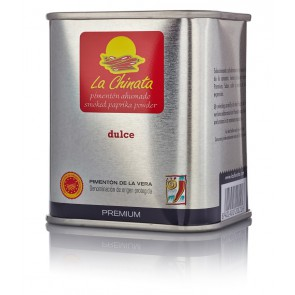 "Sweet Smoked Paprika Powder ""La Chinata"" PREMIUM 70g Tin"