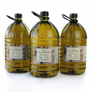 "Extra Virgin Olive Oil 5 litres ""Finca La Barca"" - 3 units"