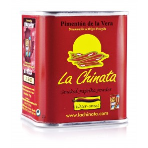 "Bitter-Sweet Smoked Paprika Powder ""La Chinata"" 70g Tin"