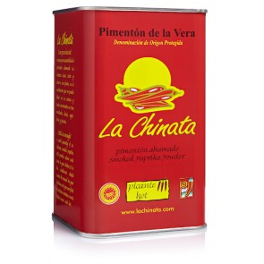 "Hot  Smoked Paprika Powder ""La Chinata"" 750g Tin"