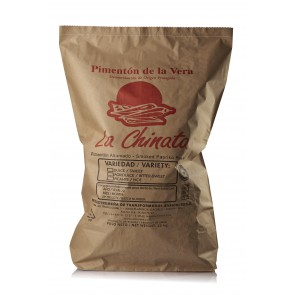 "Sweet Smoked Paprika Powder ""La Chinata"" 25 Kg. Bag"