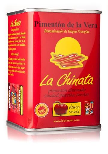 """Paprika Fumé """"La Chinata"""" Doux 160 Gr. Boîte"""
