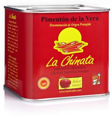 """Paprika Fumé """"La Chinata"""" Doux 350 Gr. Boîte"""