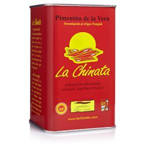 """Paprika Fumé """"La Chinata"""" Agri-doux 750 Gr. Boîte"""