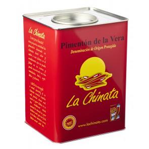 """Paprika Fumé """"La Chinata"""" Fort 4,5 kg. Boîte"""