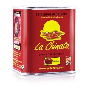 """Paprika Fumé """"La Chinata"""" Doux 70 Gr. Boîte"""