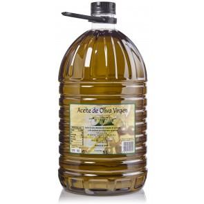 """Aceite de Oliva Virgen """"Santa Cruz"""" Garrafa 5l."""
