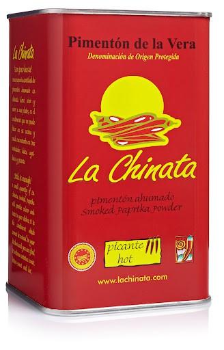 """Lata Picante 750g Pimentón Ahumado """"La Chinata"""""""