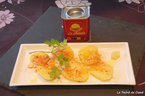 "Potatoes in Varoma for Thermomix with Sweet ""La Chinata"" Smoked Paprika Powder"