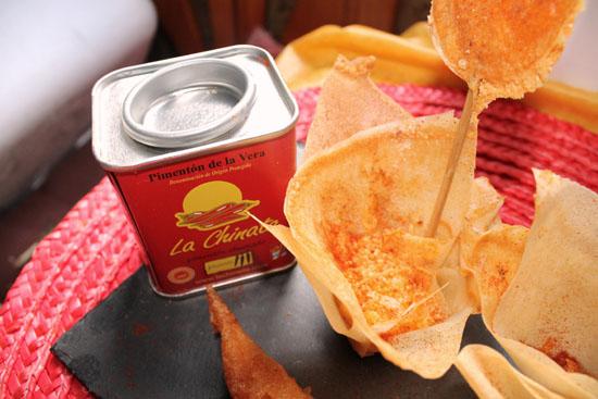 cestitas de tortilla