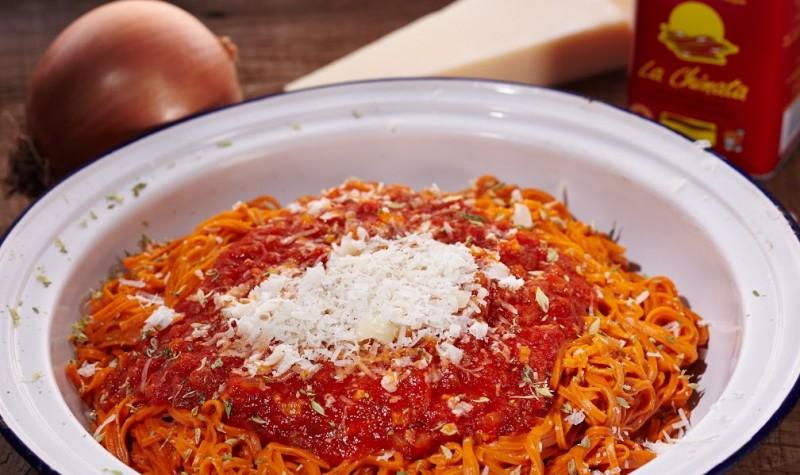 red pasta